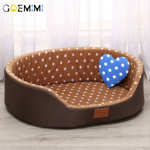 Bed for Dog & Cat House sofa Kennel Soft Fleece Pet