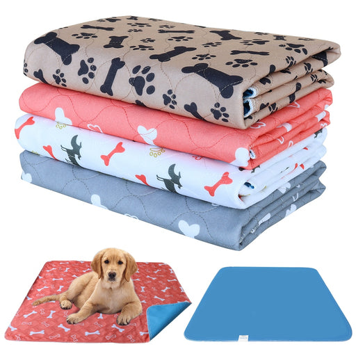 Reusable Pet Urine Pad Washable Dog Cat Diaper Mat 3 Layer Absorbent