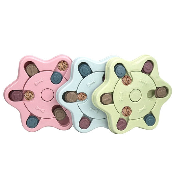 Dog Puzzle Toys Slow Feeder Interactive Increase Puppy IQ Food