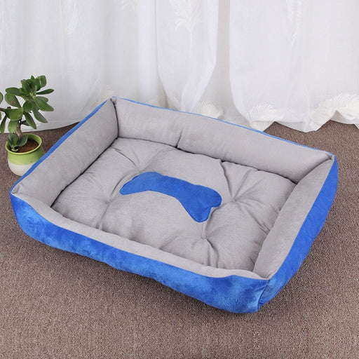 Super Soft Dog Bed Large Kennel Cotton Warm Puppy Mat Waterproof Cat Blanket