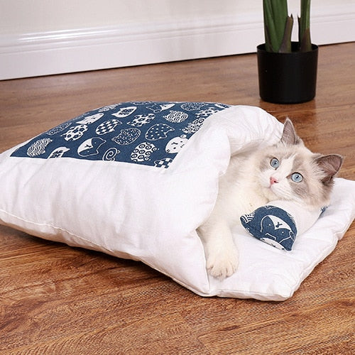 Cats Bed cat litter Sleeping Bag Home