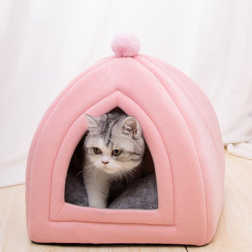 Pet home cat sleeping bed house