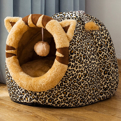 Cat & Dog Bed House Kennel Removable