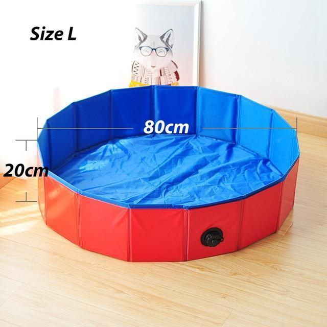 Foldable Pet Dog Bathtub