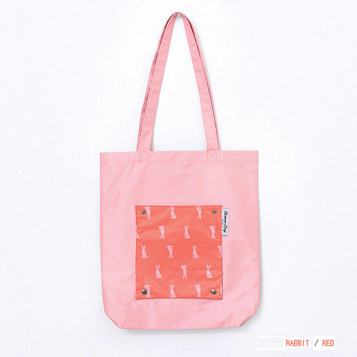Pocket Foldable Eco Tote Bag