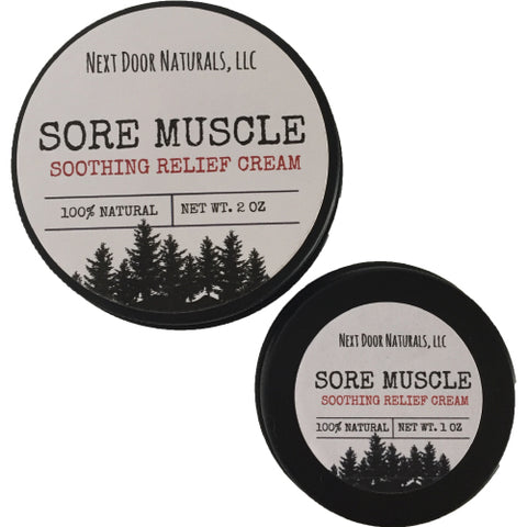 Sore Muscle Soothing Relief Cream