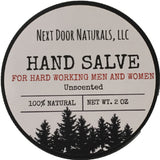 Hand Salve: For Hard Working Men & Women