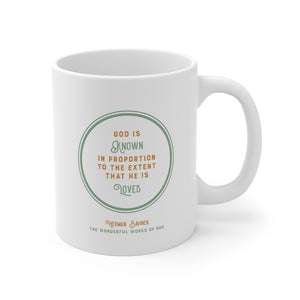 DT Quote Mugs - Bavinck Edition 1 God is known