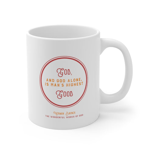 DT Quote Mugs - Bavinck Edition 3 God is man's highest good