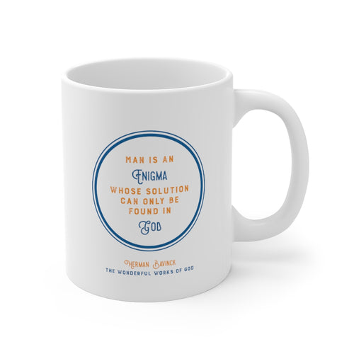 DT Quote Mugs - Bavinck Edition  2 Man is an engimga