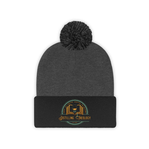 Distilling Theology Knit Beanie