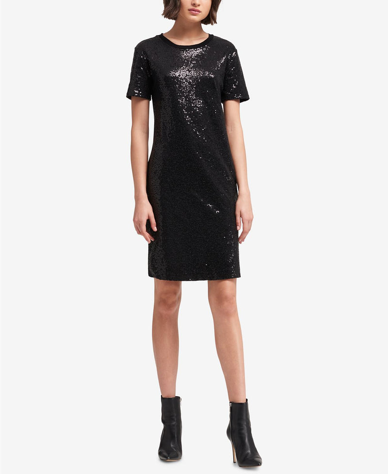 S/S SEQUIN DRESS