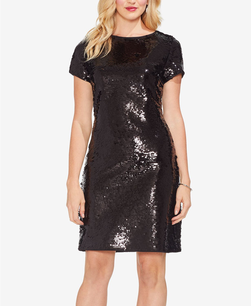 S/S FISH SCALE SEQUIN DR