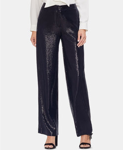 ALL-OVER SEQUIN WIDE LEG