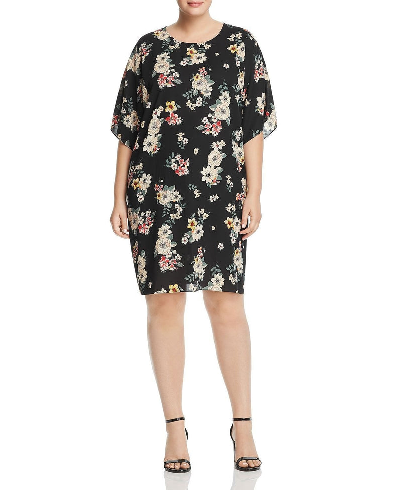 DOLMAN SLV FLORAL DRESS