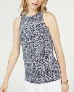 Printed Sleeveless Tank Top
