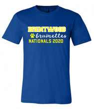 Load image into Gallery viewer, Brentwood Bruinettes Nationals Tee