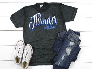 Retro Thunder Acid Wash Tee