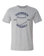 Load image into Gallery viewer, Thunder Baseball-  Bella Canvas/LAT tee