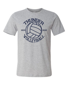 Thunder Volleyball -  Bella Canvas/LAT tee