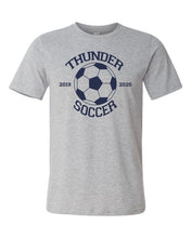 Load image into Gallery viewer, Thunder Soccer -  Bella Canvas/LAT tee