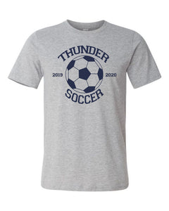 Thunder Soccer -  Bella Canvas/LAT tee