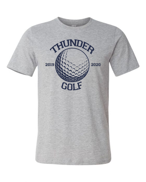 Thunder Golf-  Bella Canvas/LAT tee
