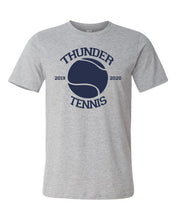 Load image into Gallery viewer, Thunder Tennis-  Bella Canvas/LAT tee