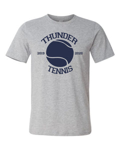 Thunder Tennis-  Bella Canvas/LAT tee