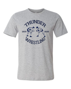 Thunder Wrestling -  Bella Canvas/LAT tee