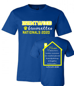 Brentwood Bruinettes Nationals Tee