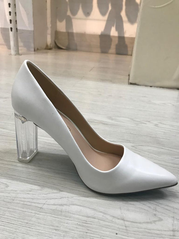 Transparent High Heel Shoe
