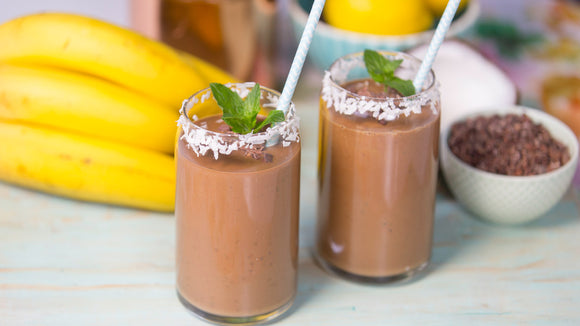 Mint-Chocolate-Mix Smoothie