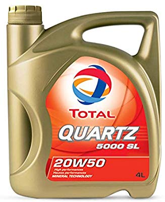 Total Quartz 5000SL 20W-50