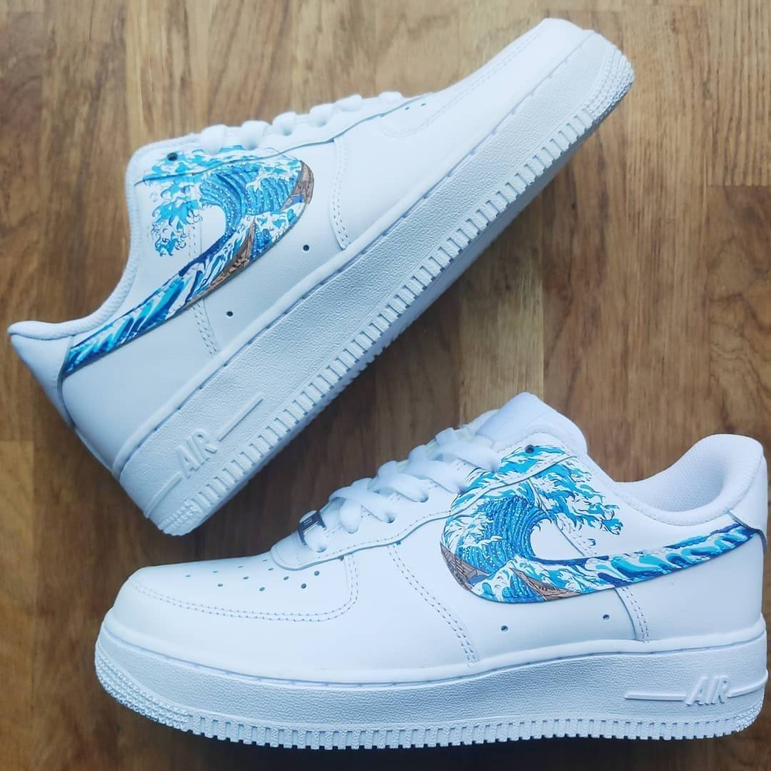 'Great Wave' Air Force 1