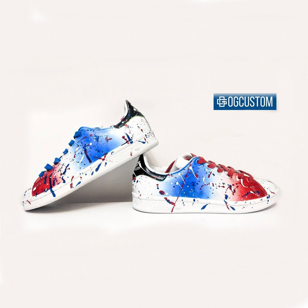 'France Color Splash' Adidas Stan Smith