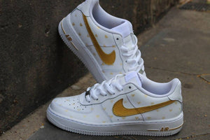 'Gold Hearts' Air Force 1