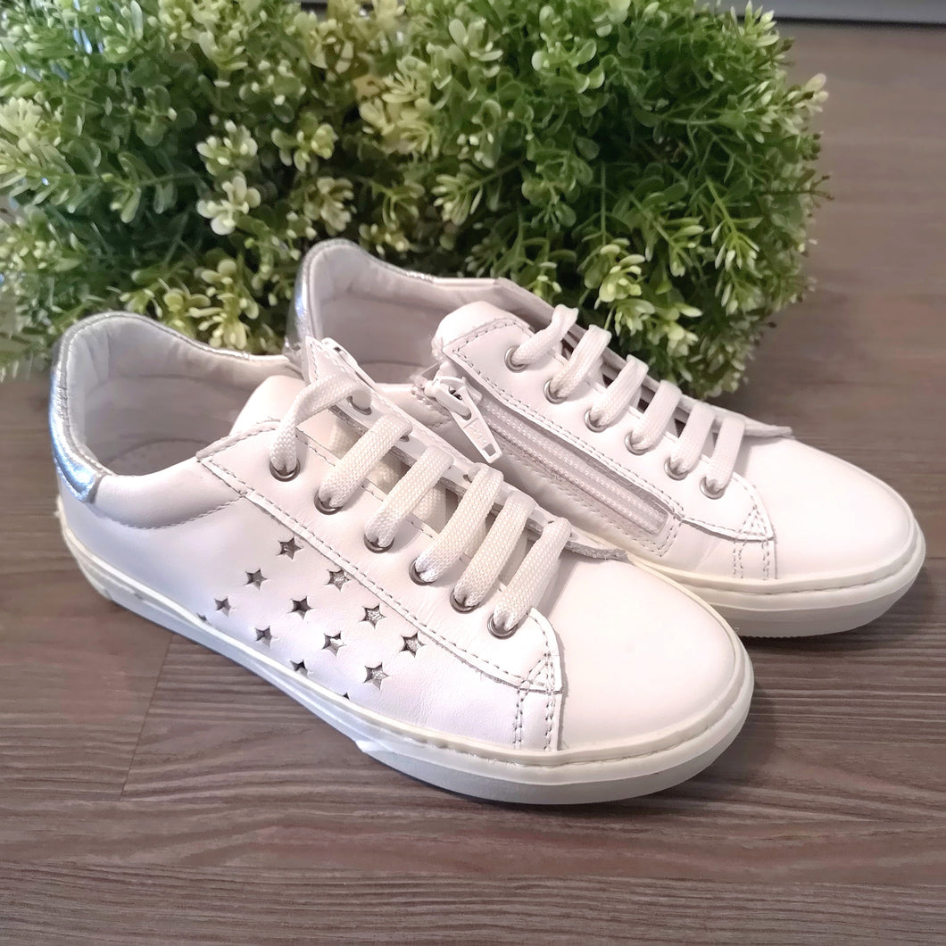 Bimbo shoes - Sneakers bianca e argento