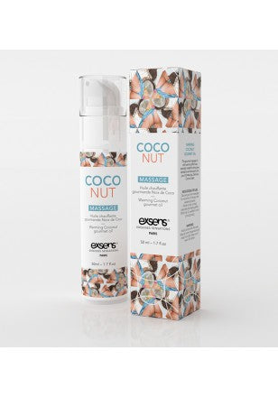 Huile de massage Hot gourmand coconut