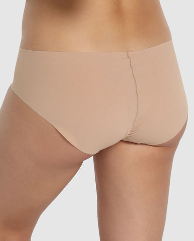 Slip taille basse invisible