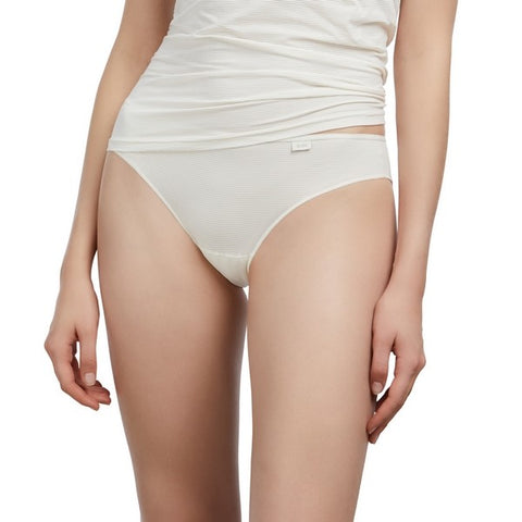 Slip basic taille basse microfibre