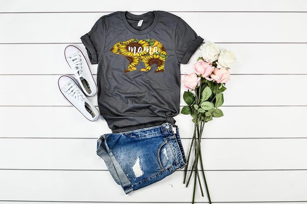 Sunflower Mama Bear Tee