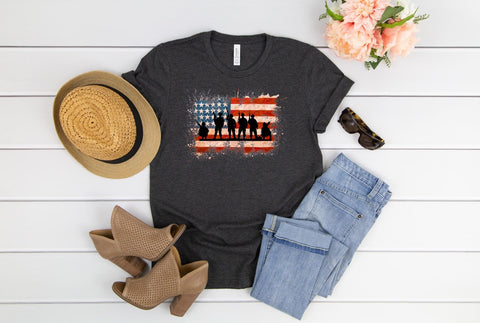 Soldier Flag Tee