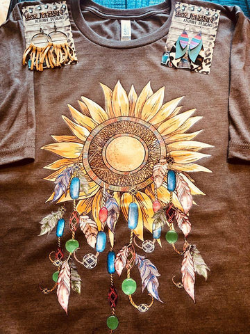 Sunflower Dream catcher T-shirt
