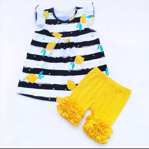 Lemons! Lemons! Lemons!  Little Girls Outfit **Limited Sizes