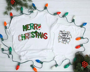 Multi Design Merry Christmas Tee