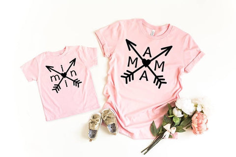 MAMA/mini Arrow T-shirt