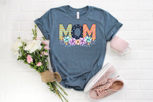 Floral Mom Tee