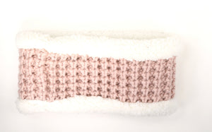 SHERPA CABLE KNIT CC HEAD WRAP HW36