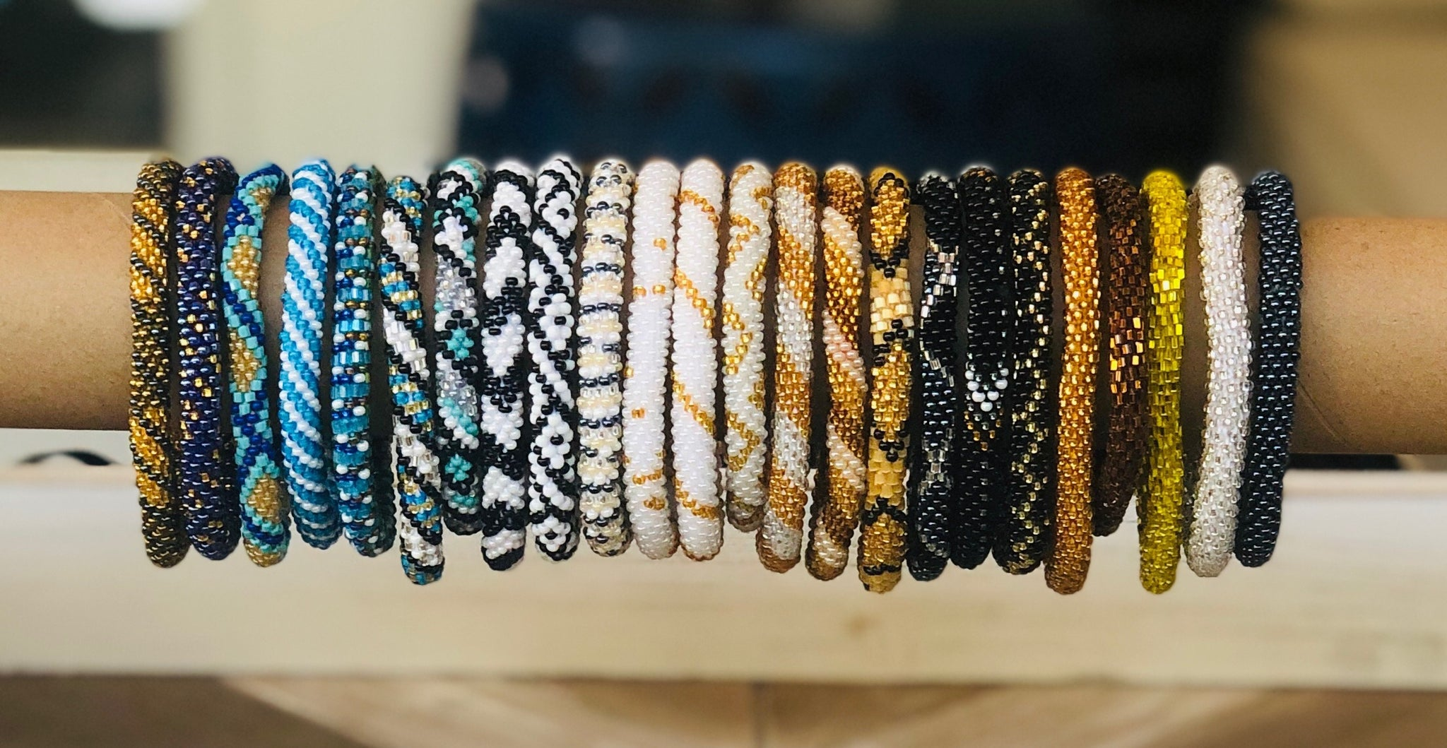 Nepal Seed Bracelets, Assorted Colors